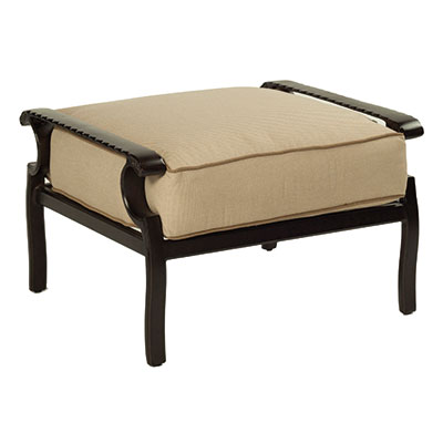 Monterey Ultra High Back Outdoor Ottoman by Castelle