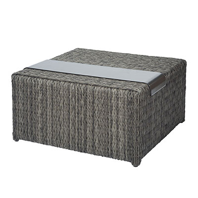 Orsay Woven Corner Table Section with Tray by Ebel