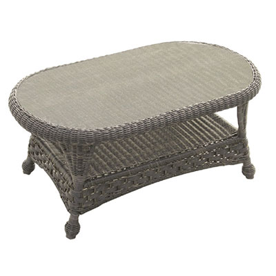 georgetown oval coffee table