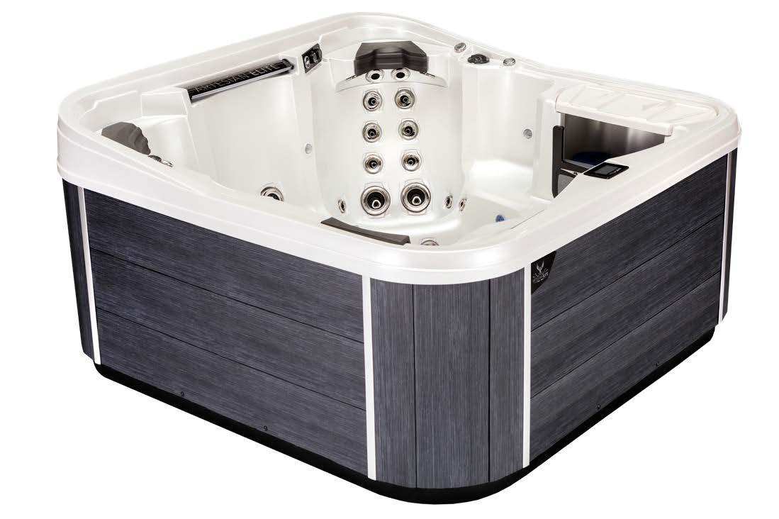 Monarch Elite Hot Tub Cabinetry Color - Noir