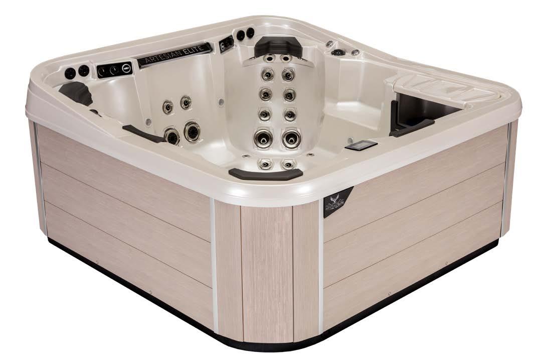 Editing Artesian Elite Quail Ridge Spa & Hot Tub with Sea Oats Cabinetry
