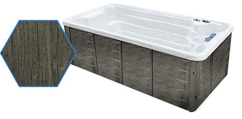 Dual Temp 19' TidalFit Swim Spa & Hot Tub Grey Cabinetry