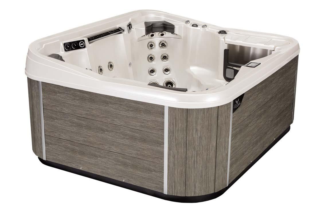 Monarch Elite Hot Tub Cabinetry Color - smoke