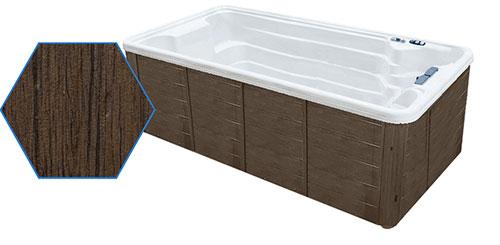 Taupe  Grandwood Cabinet for TidalFit Swim Spa