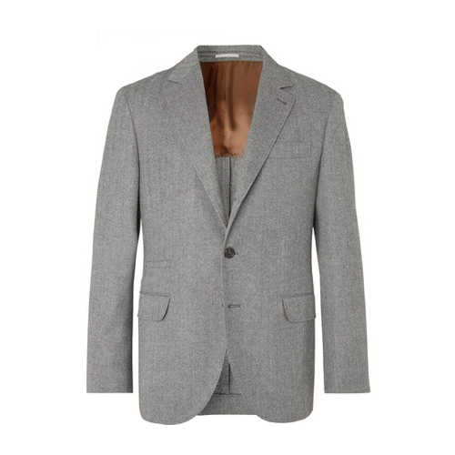 Brunello Cucinelli Herringbone Jacket