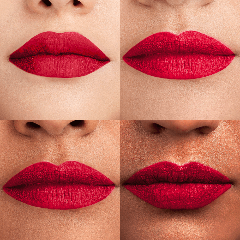 464e9ac53 If there's one shade of lipstick that looks good on absolutely everyone,  it's red. There's a ferocity to a red lip that can't be achieved by any  other ...