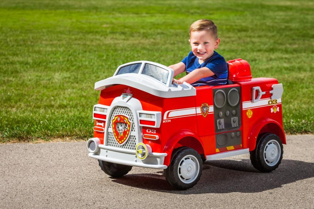 Paw Patrol Marshall Fire Truck Kid Trax