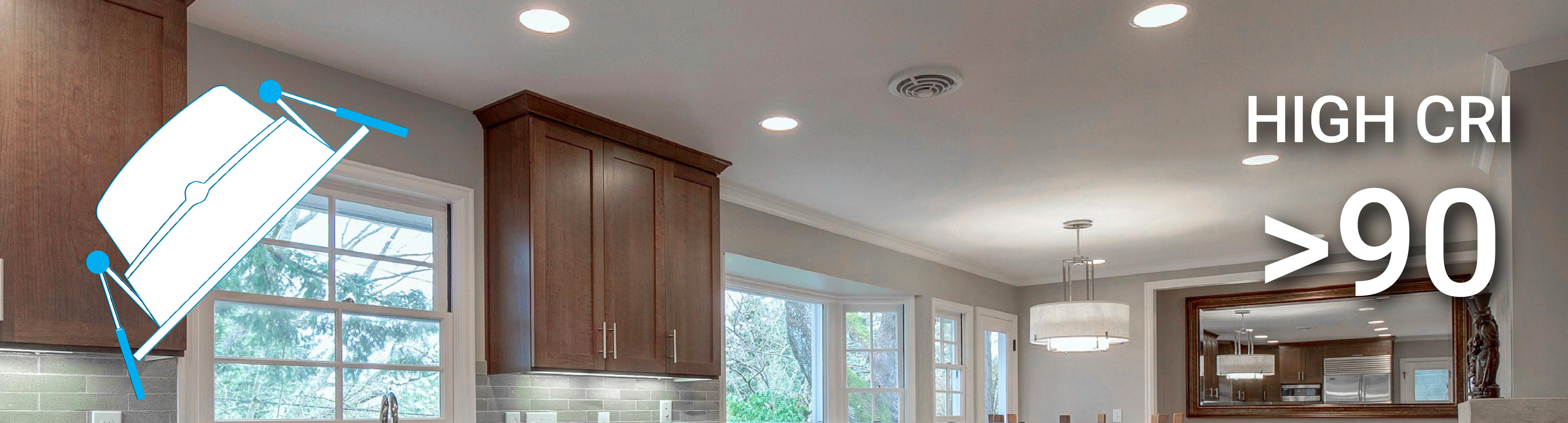 4 Inch Dimmable Led Downlights 10w Retrofit Cri 90 Ledmyplace Wiring Diagram Of Triac Dimming Downlight Connecting Over 1 A 80 For Mean They Are Good Retail Or Any Other Commercial Application When The Objective Is To Accurately Display