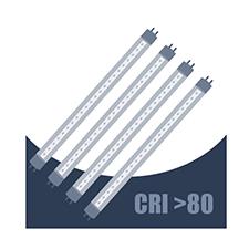 CRI >80