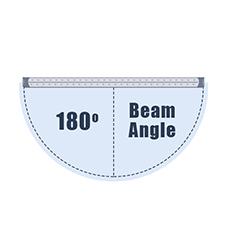 180 Degree Beam Angle