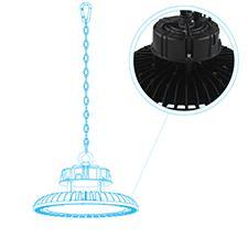 UFO LED Light Construction