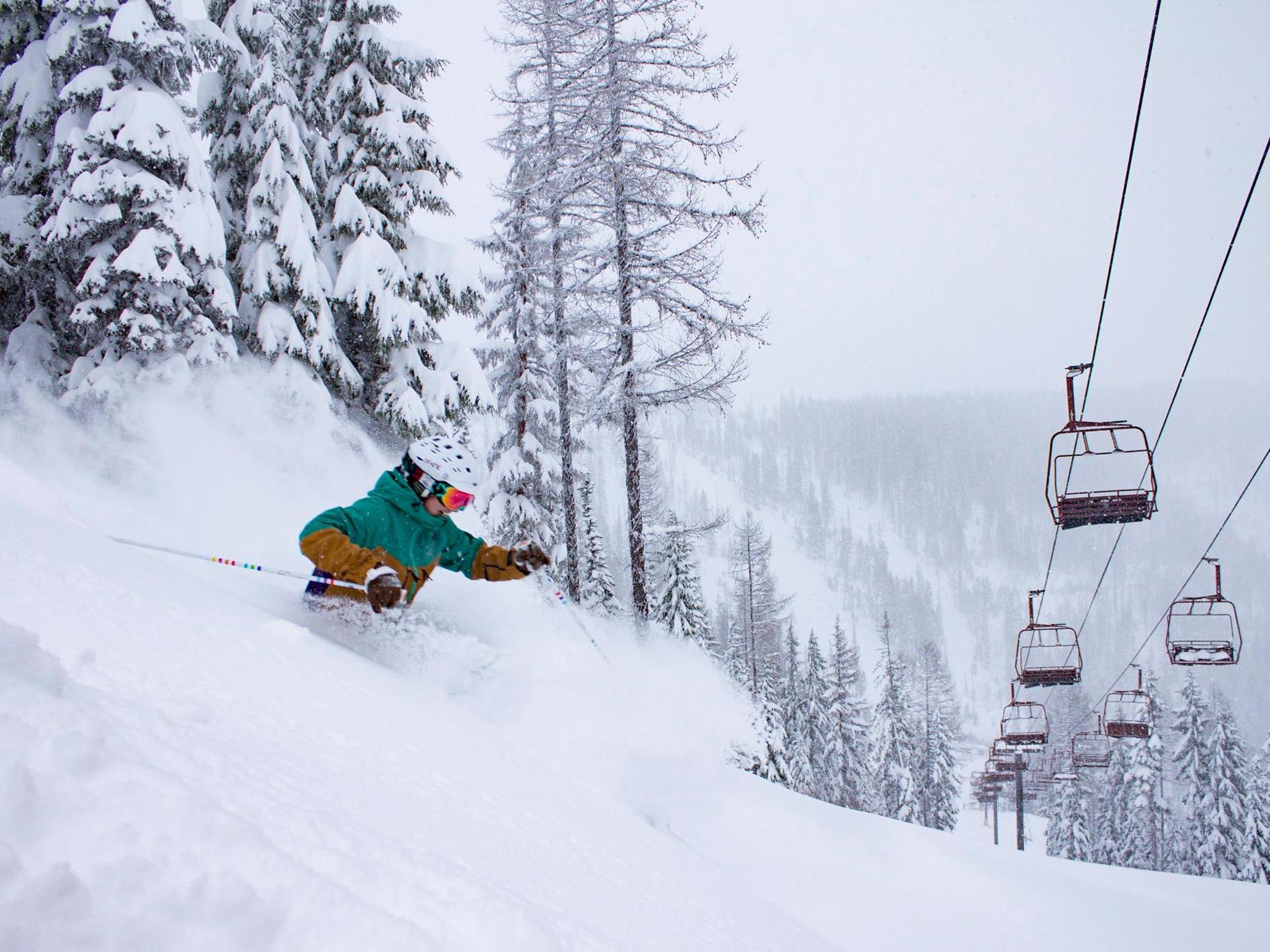 Liberty Skis Genesis 106 Women's Freeride and Powder Ski