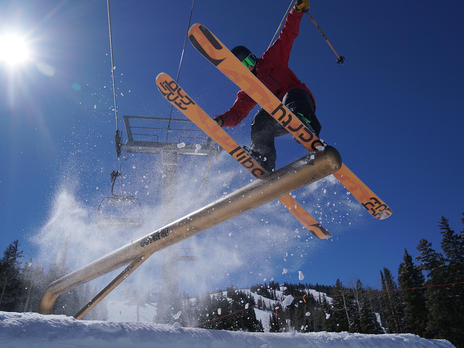 Liberty Skis Helix 84 All-Mountain, All-Terrain, Park, Junior, Kids, and Teen Ski