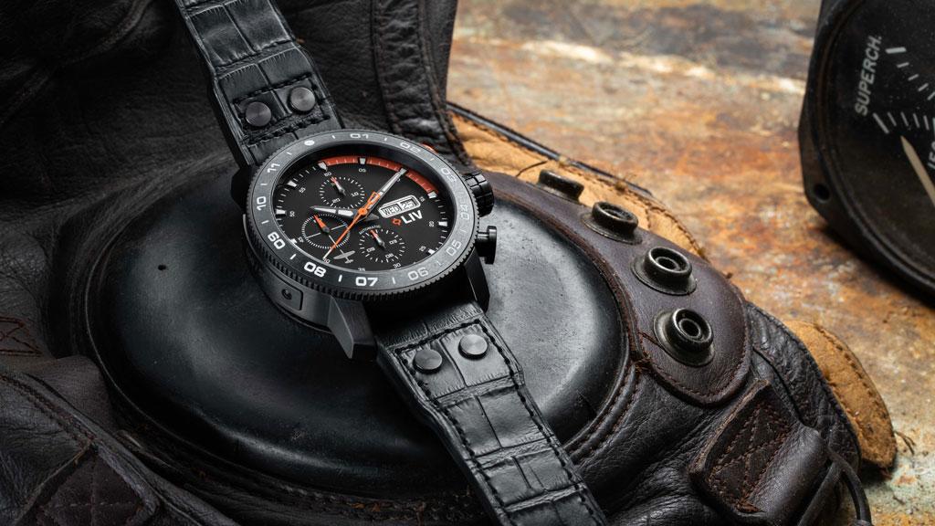 LIV watches 23mm pilot strap