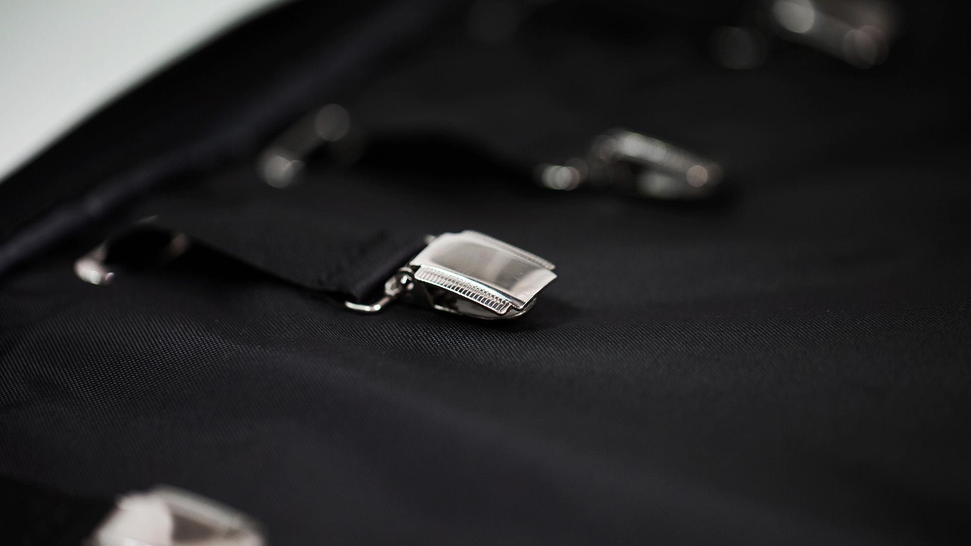 Zaino con porta abiti da viaggio | Backpack with Garment Bag | LUDOVICO MARABOTTO