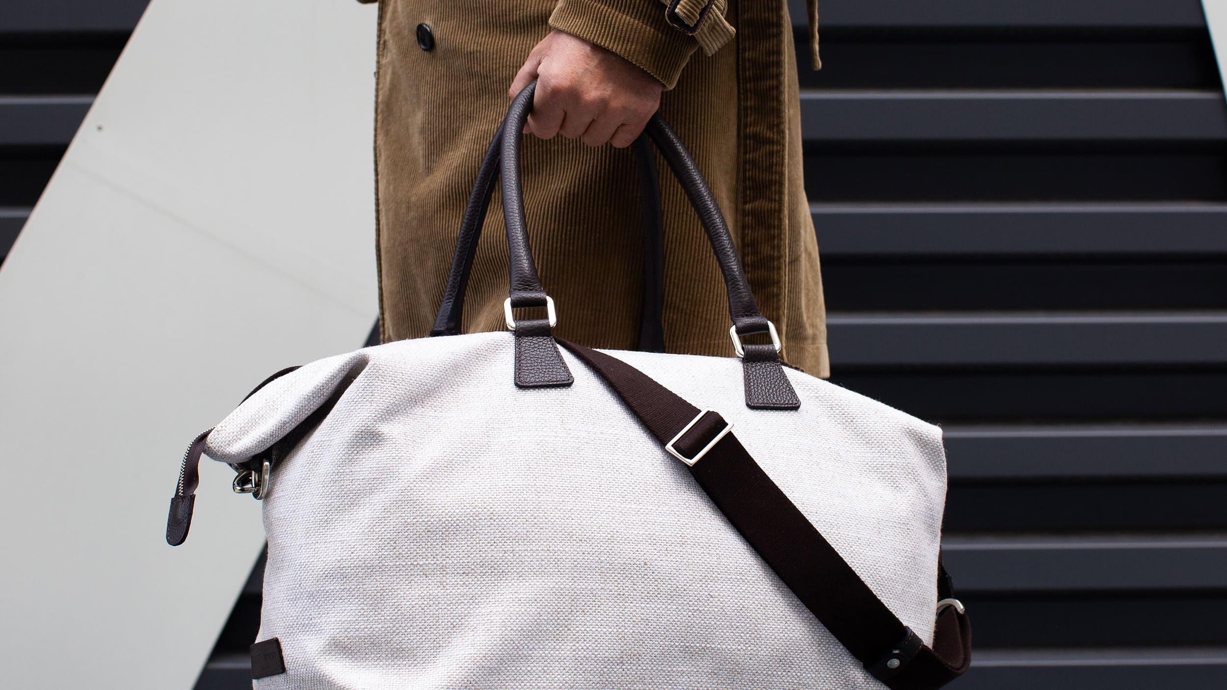 Borsone da viaggio in lino | Weekender Bag linen | Borsa Weekend