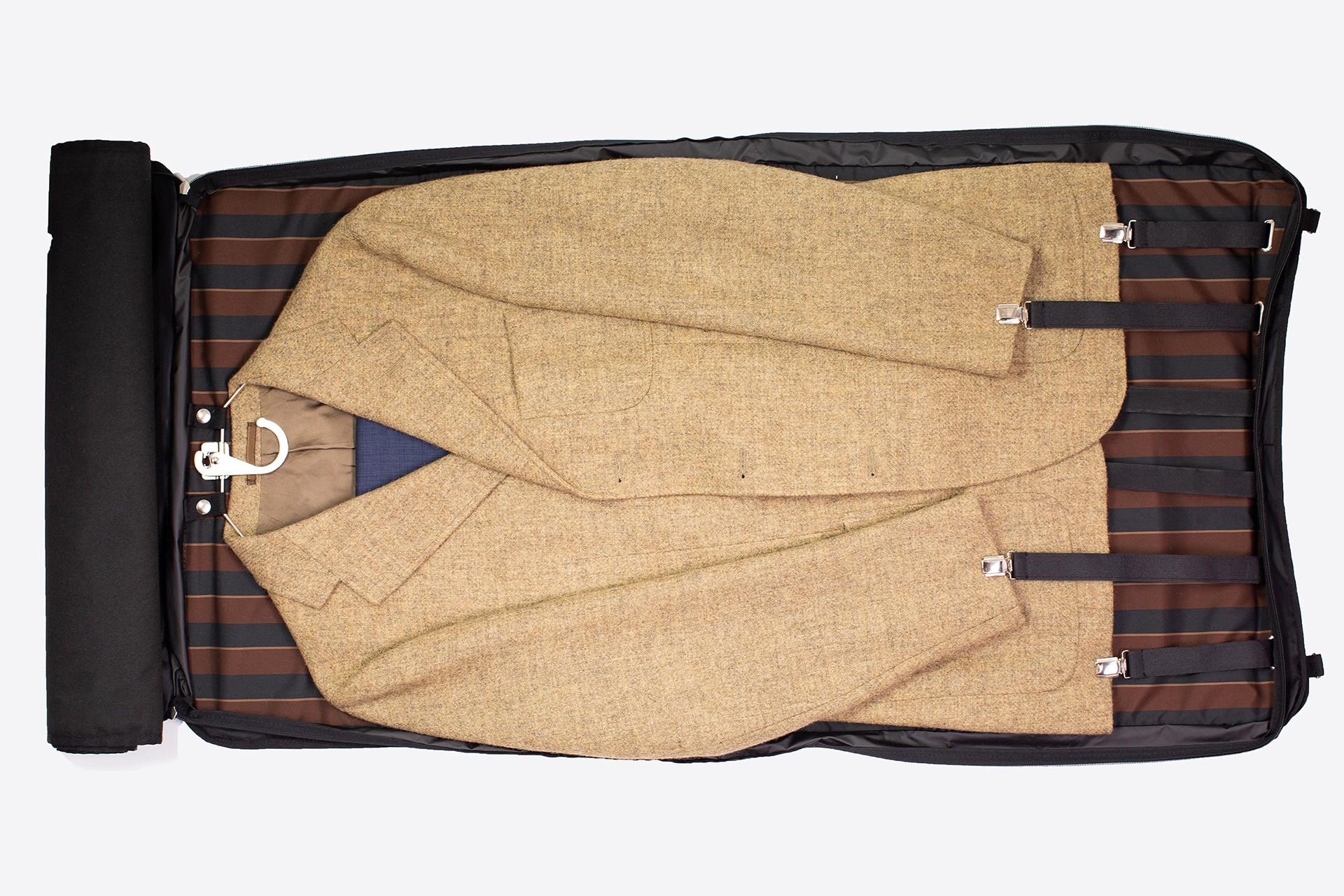 Zaino con porta abiti da viaggio   Backpack with Garment Bag   LUDOVICO MARABOTTO