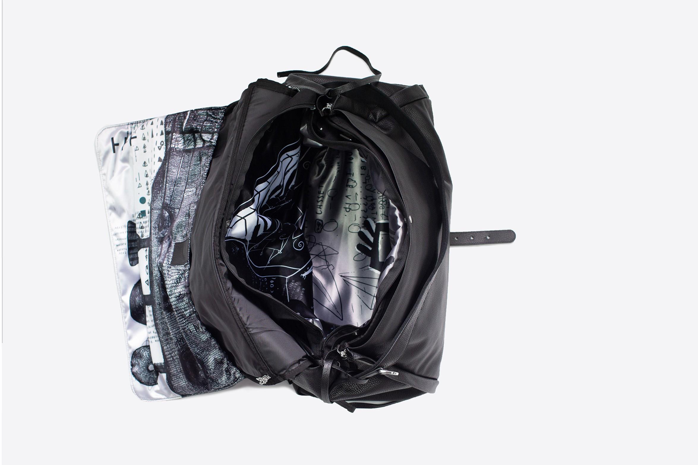 Borsa Weekender con porta abiti da viaggio | Garment Weekender Bag | Travel Garment Bag | LUDOVICO MARABOTTO