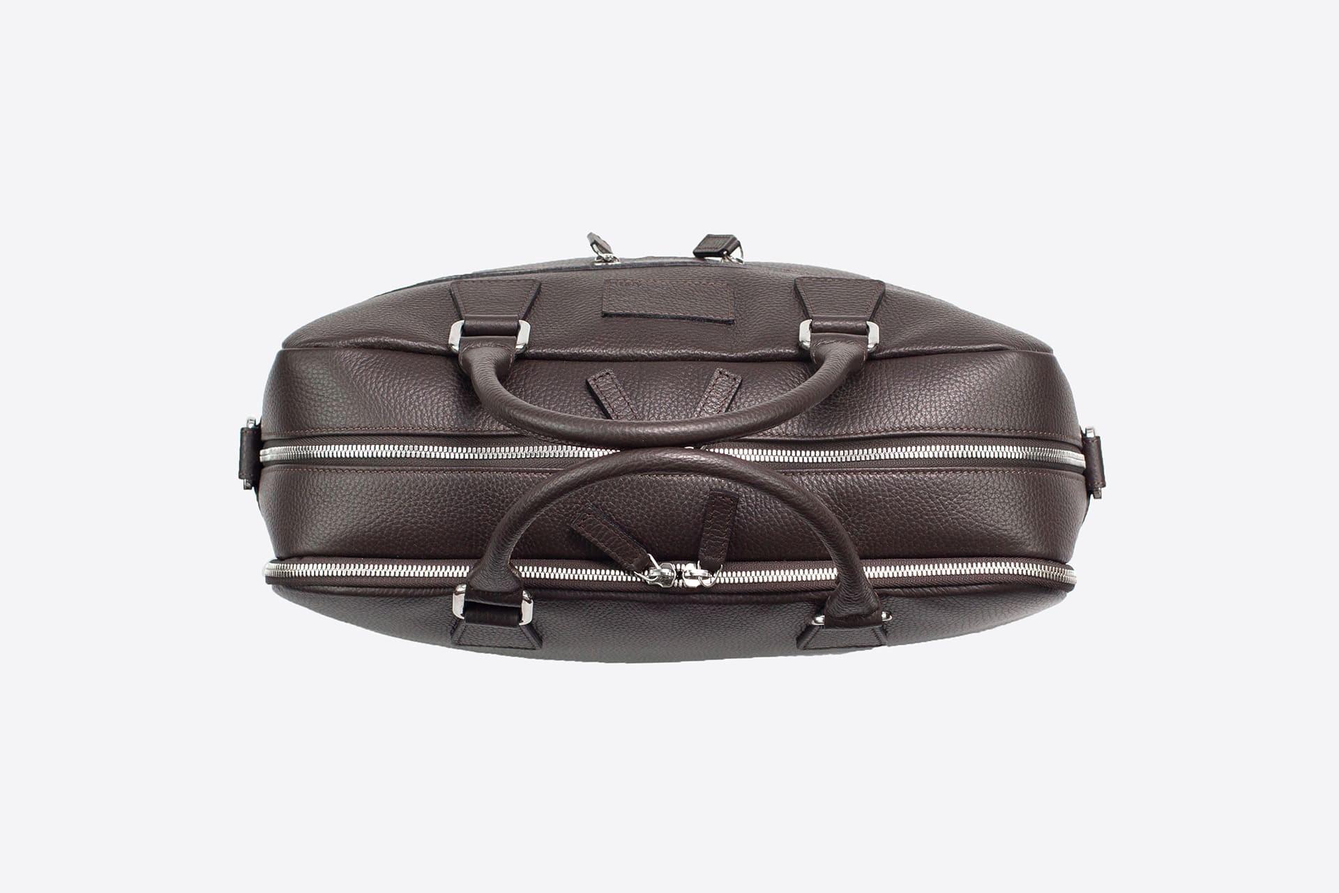 Borse da viaggio 24H | Leather Briefcase | LUDOVICO MARABOTTO