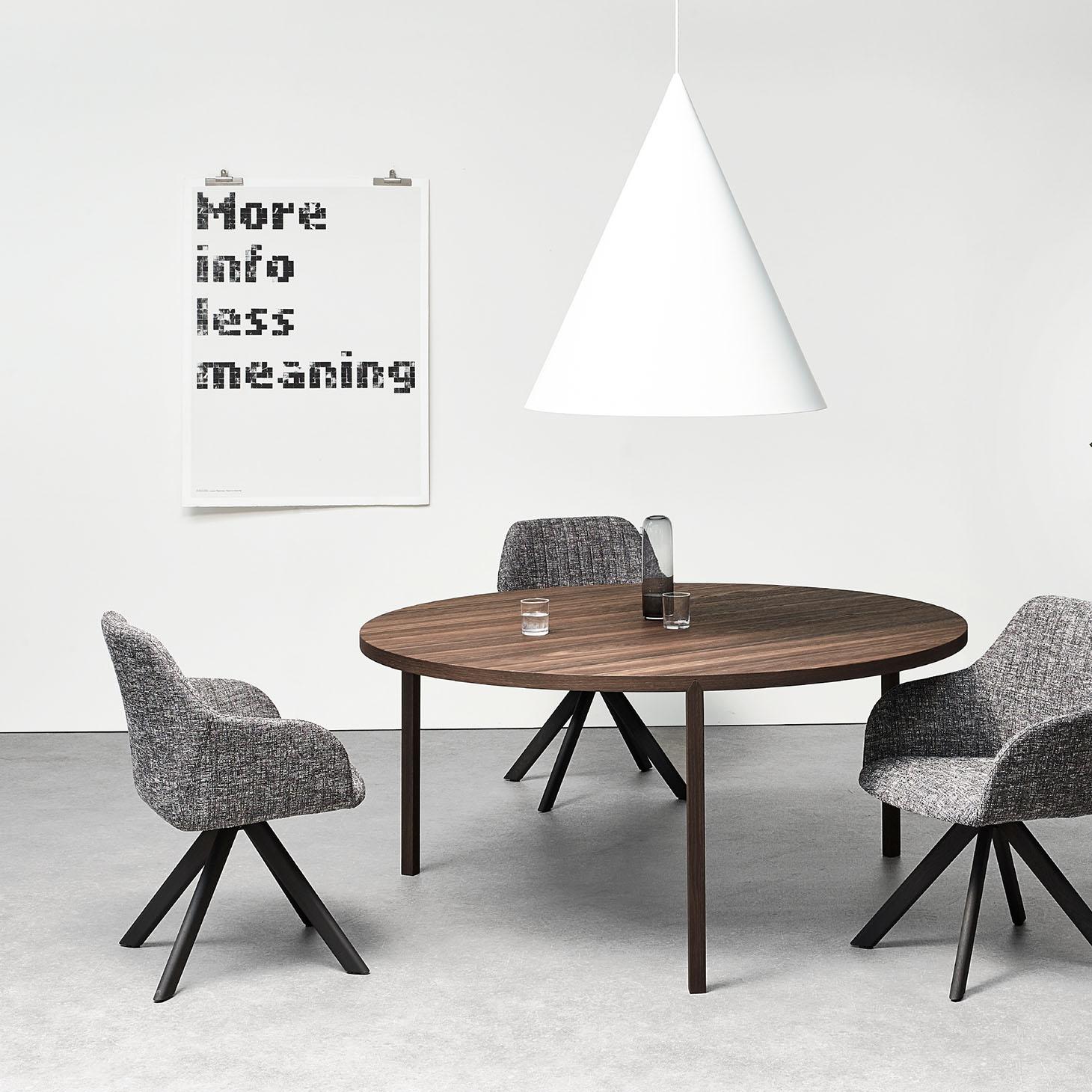 Slim+ Round Table Installation Shot