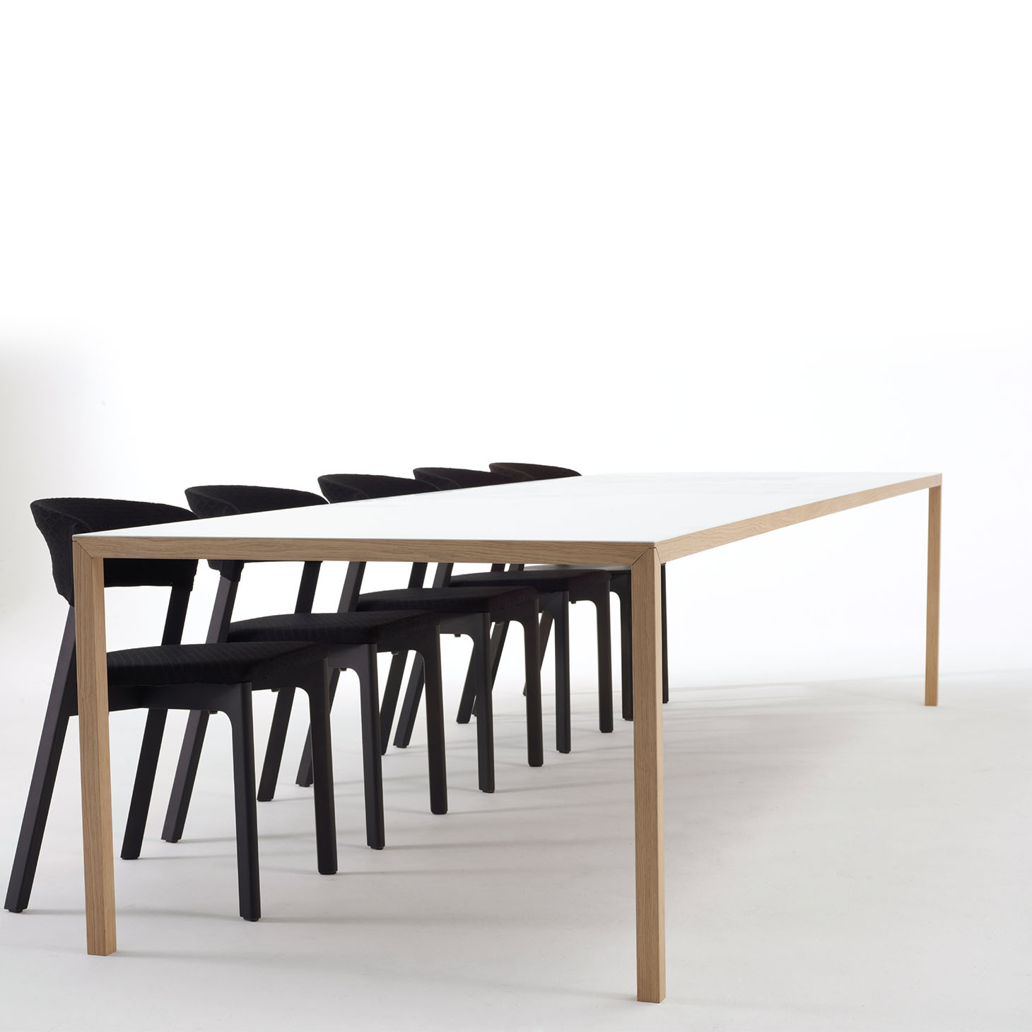 Slim Table and Cafe Chairs