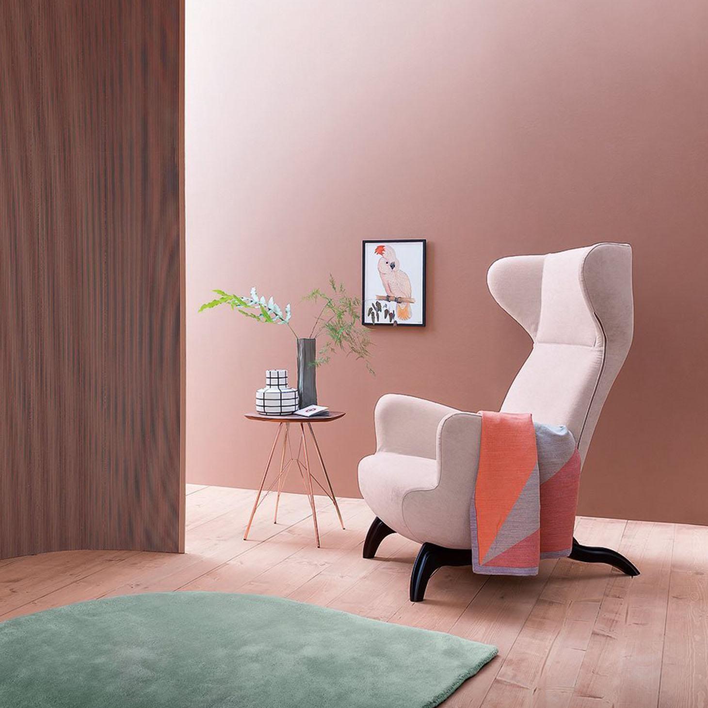 Ardea lounge chair, homage to Carlo Molino
