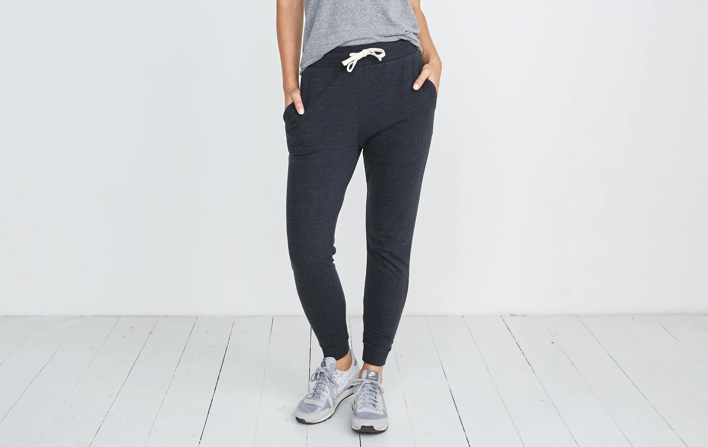 88396e19c1b Double Knit Jogger in Faded Black – Marine Layer