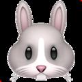 emoji lapin