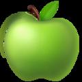 emoji pomme