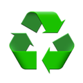 100% recyclable bottle