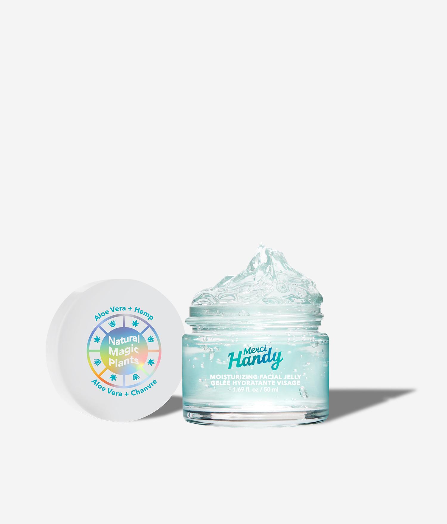 Moisturizing facial jelly