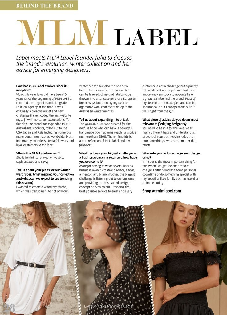 MLM Label Magazine