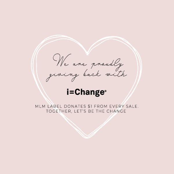 MLM LABEL GIVING BACK WITH IEQUALCHANGE