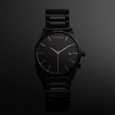 91a2a855d4f5 Black Link Watch | Men's - 45mm | Classic Series | MVMT