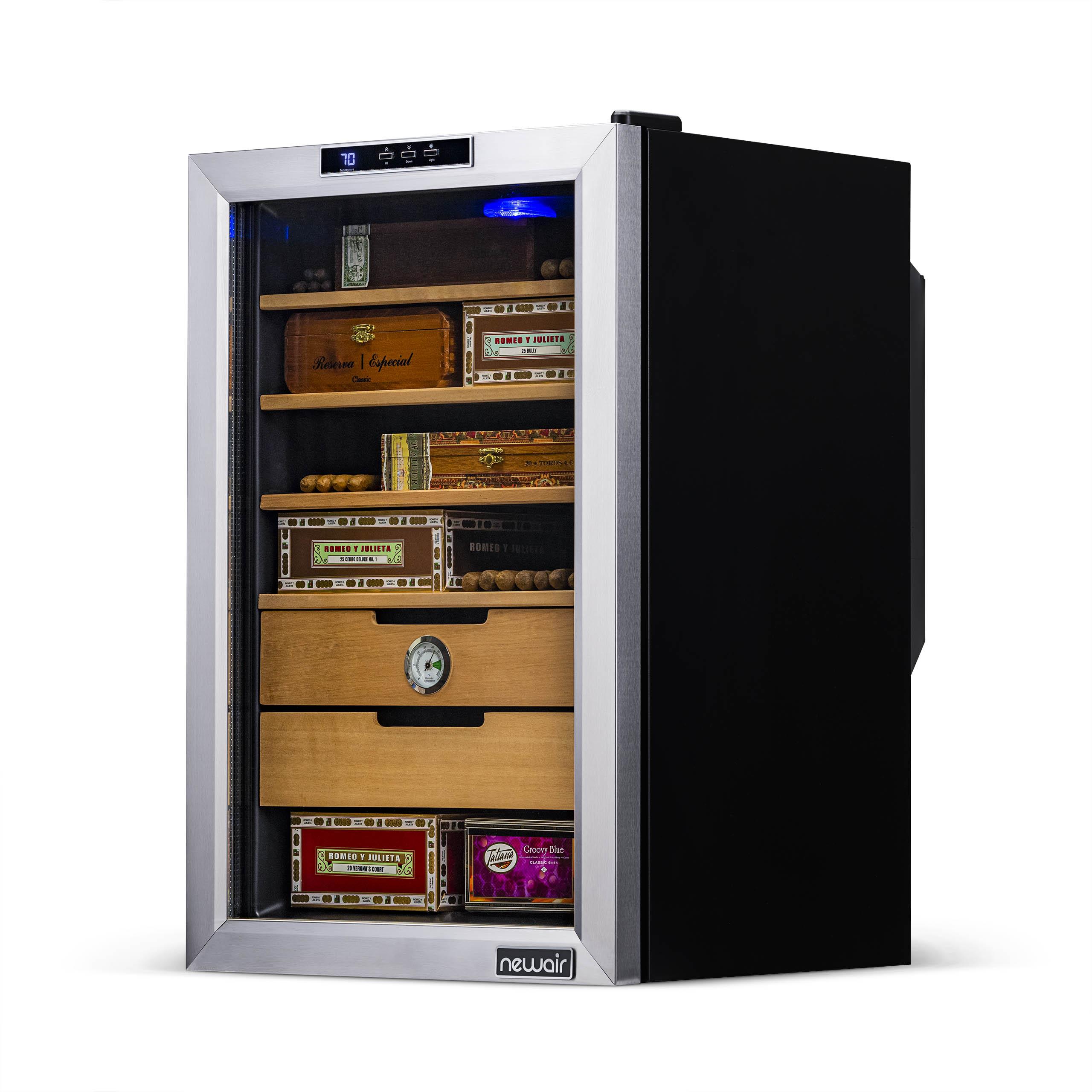 NewAir CC-300 Cigar Cooler | Large Thermoelectric Cigar Humidor