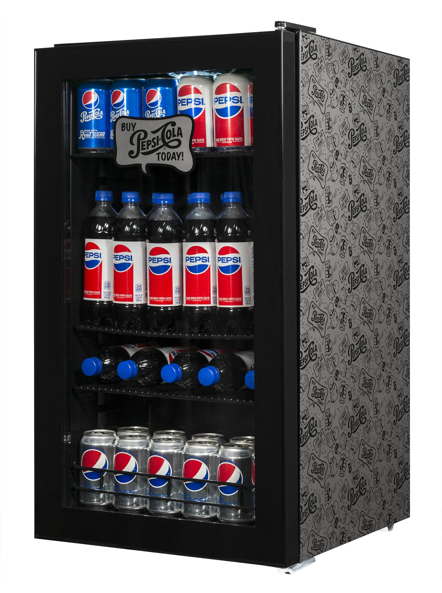 NewAir 126-Can Beverage Cooler | AB-1200BP