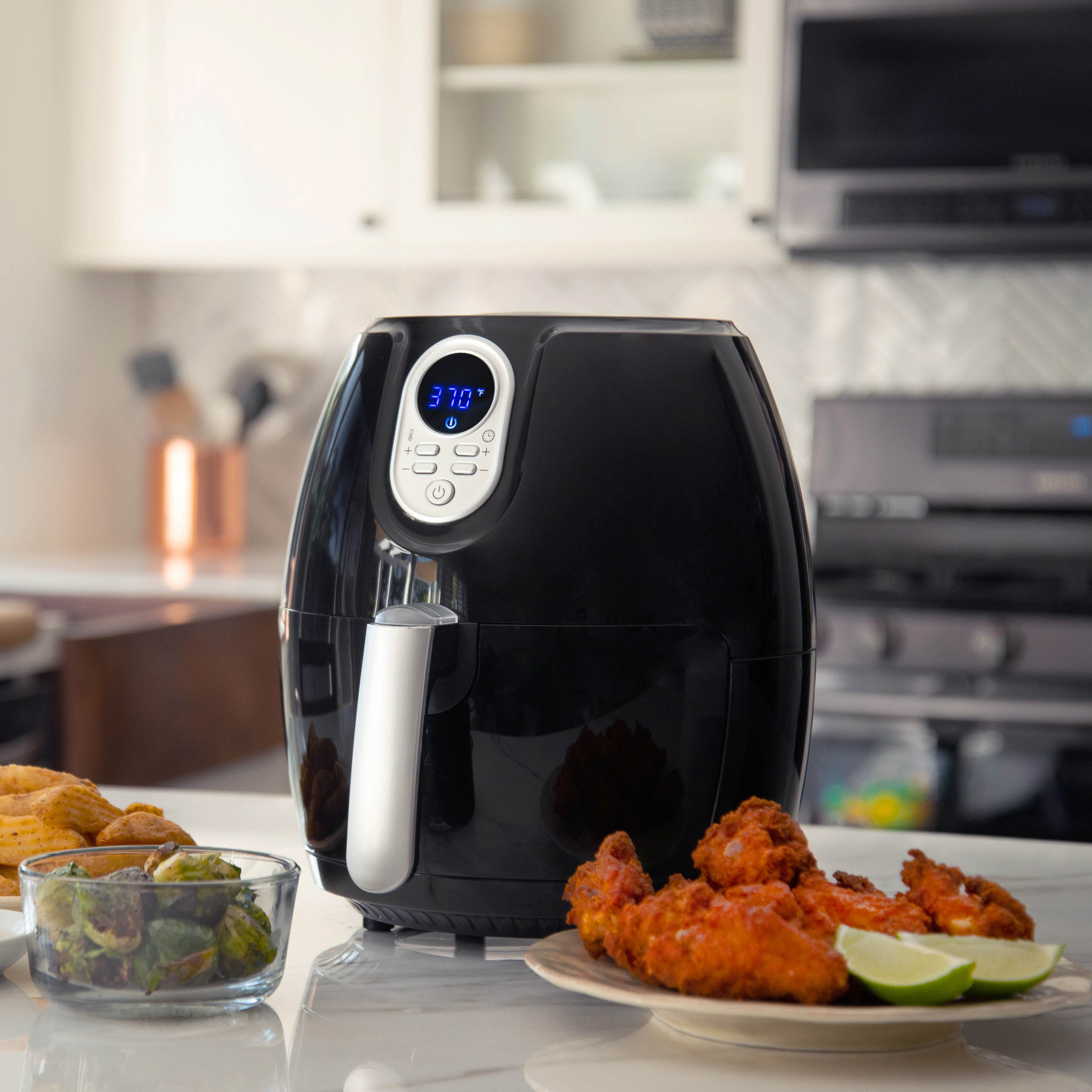 Magic Chef 174 Snack Sized Compact Digital Air Fryer Newair