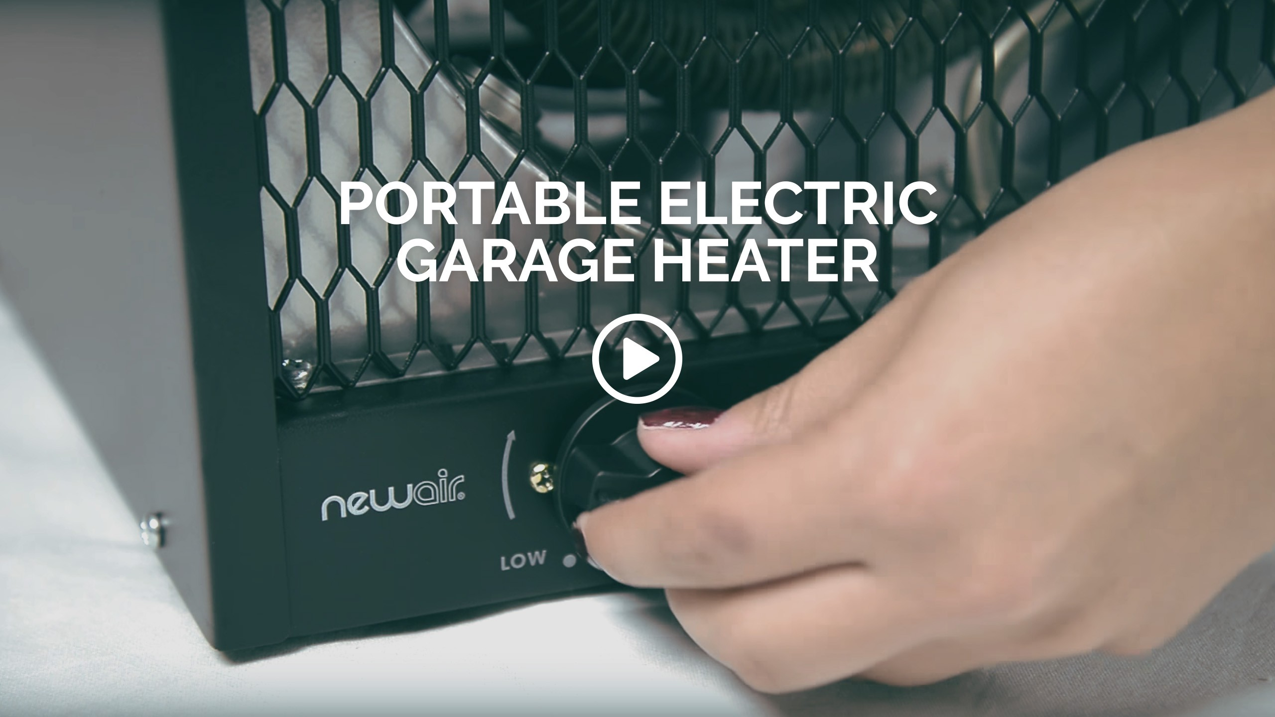 NewAir G56 Garage Heater | 800 Sq. Ft. Portable Electric ...