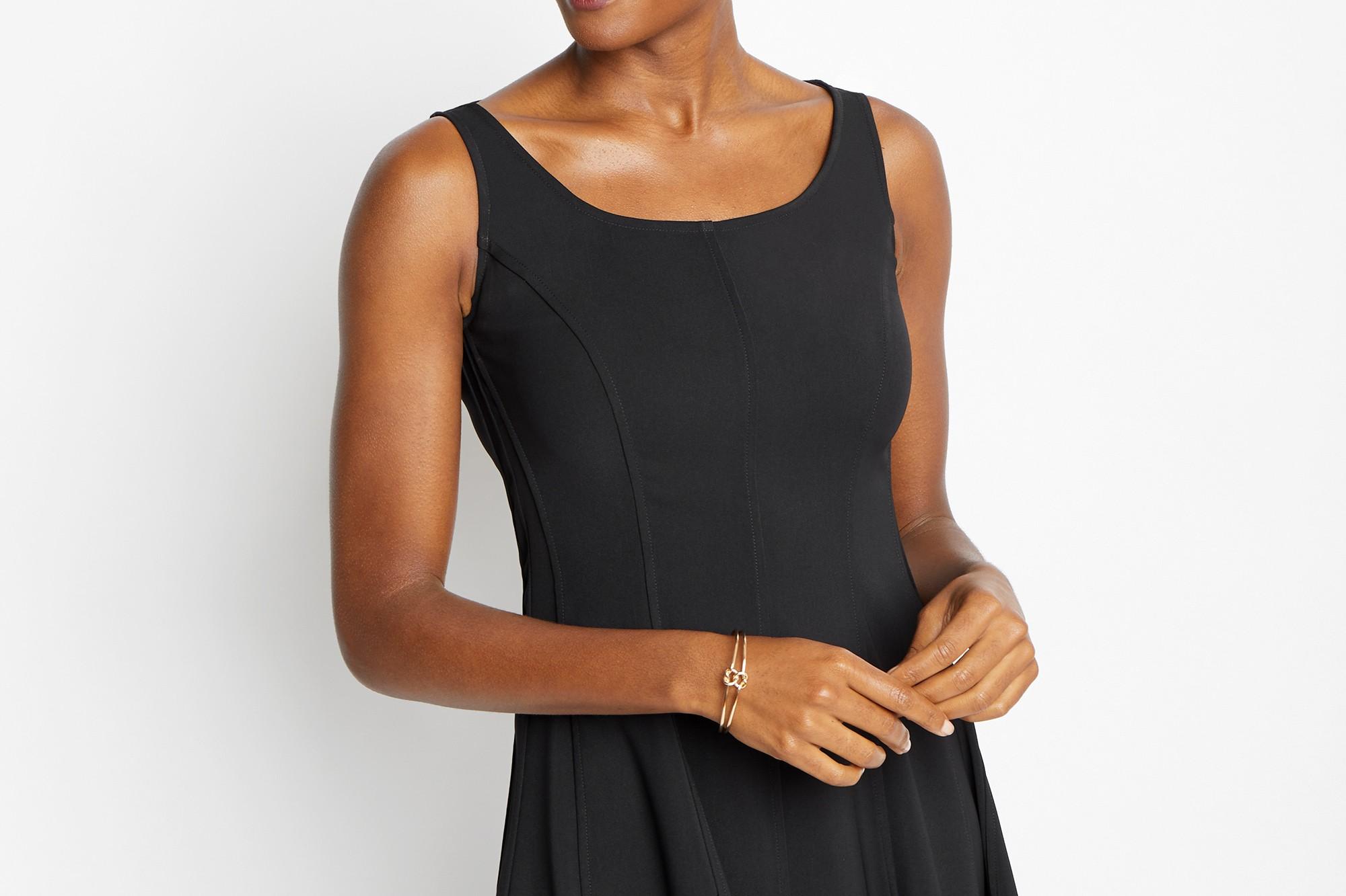 Black Rubin Dress Detail Image | Of Mercer