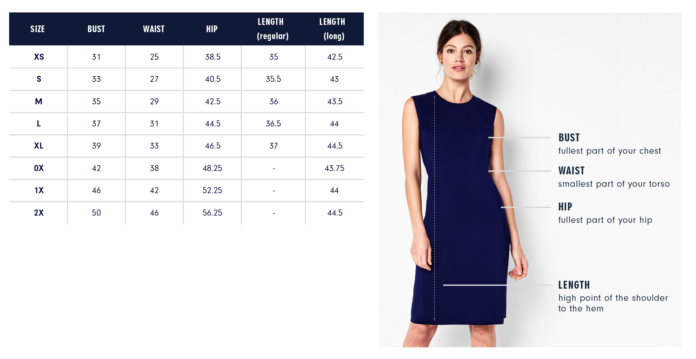 Of Mercer Astor Wrap Dress Size Chart