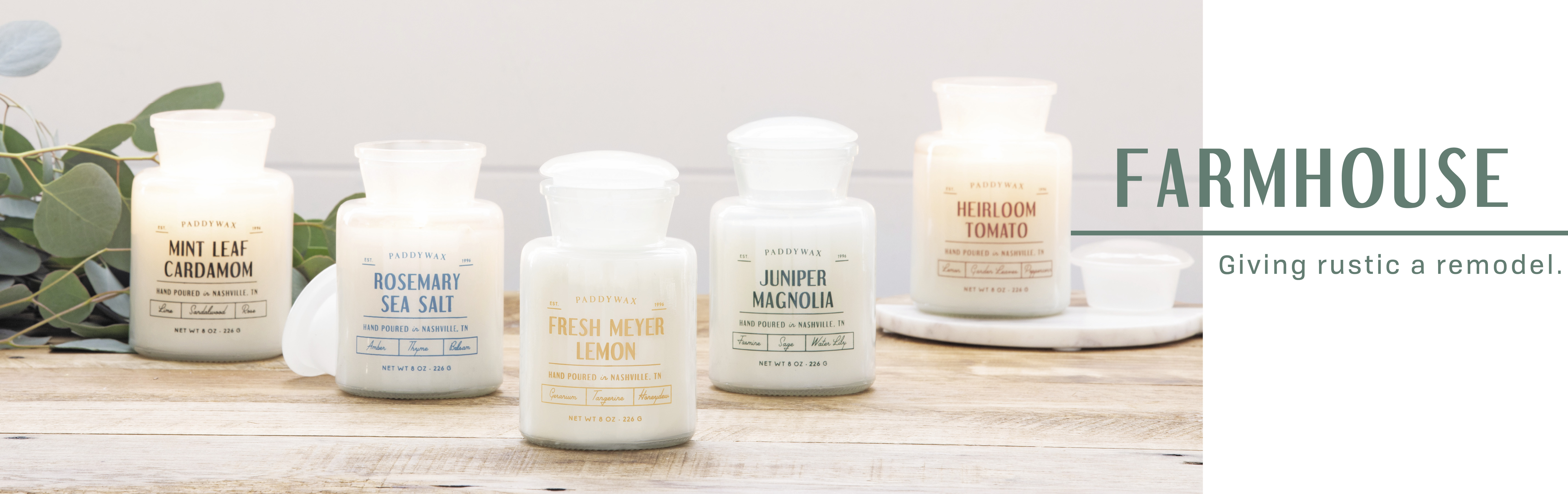 Farmhouse Candles