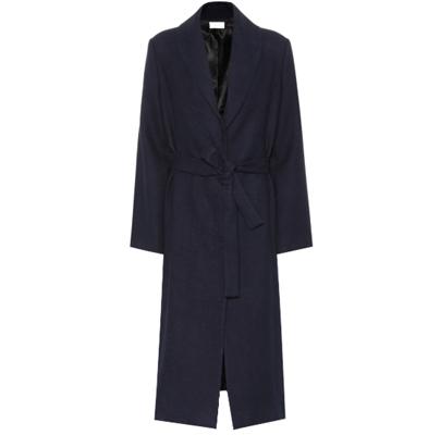 Navy Robe Coat