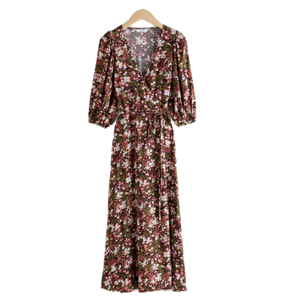 How to Style Floral Midi Dress