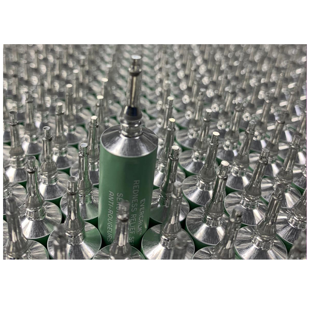 Beauty world-first: aluminium sample pack