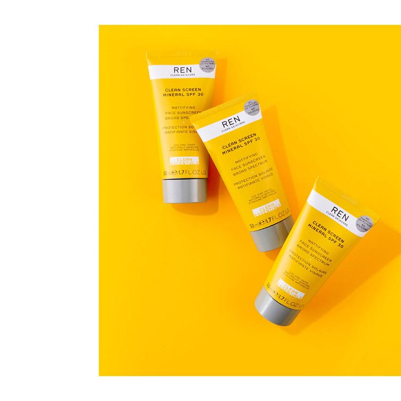 Oily skin: the day routine.