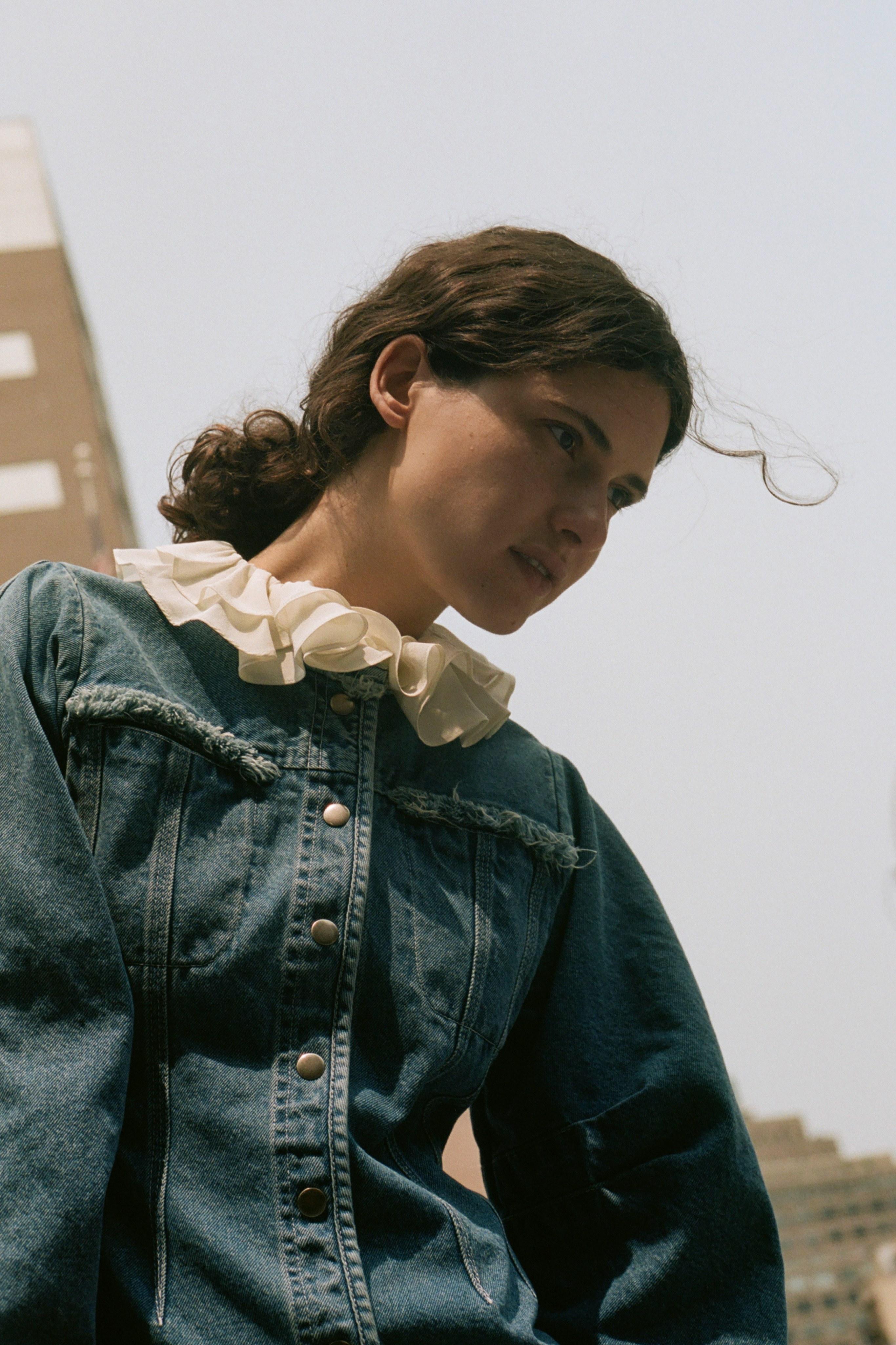 Doreen dress, Sinclair silk blouse