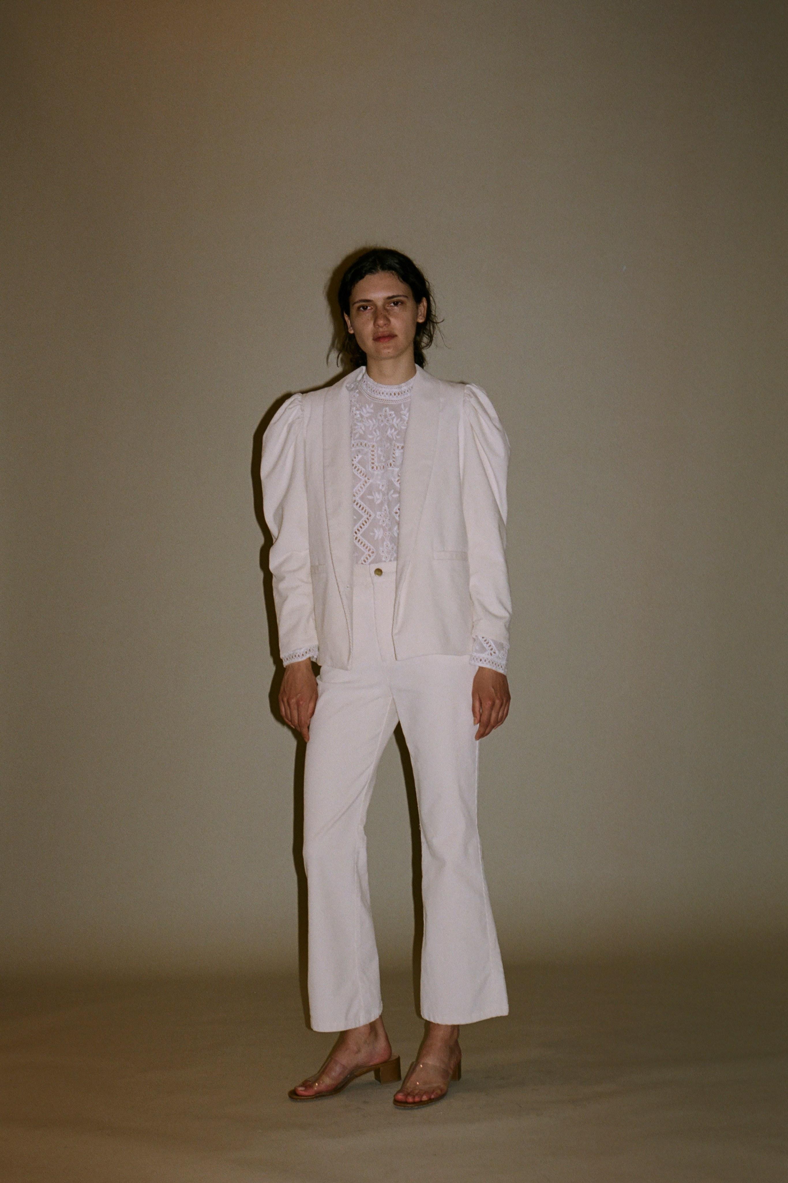 Zippy long sleeve blouse, Curtis corduroy blazer, Curtis corduroy Pants