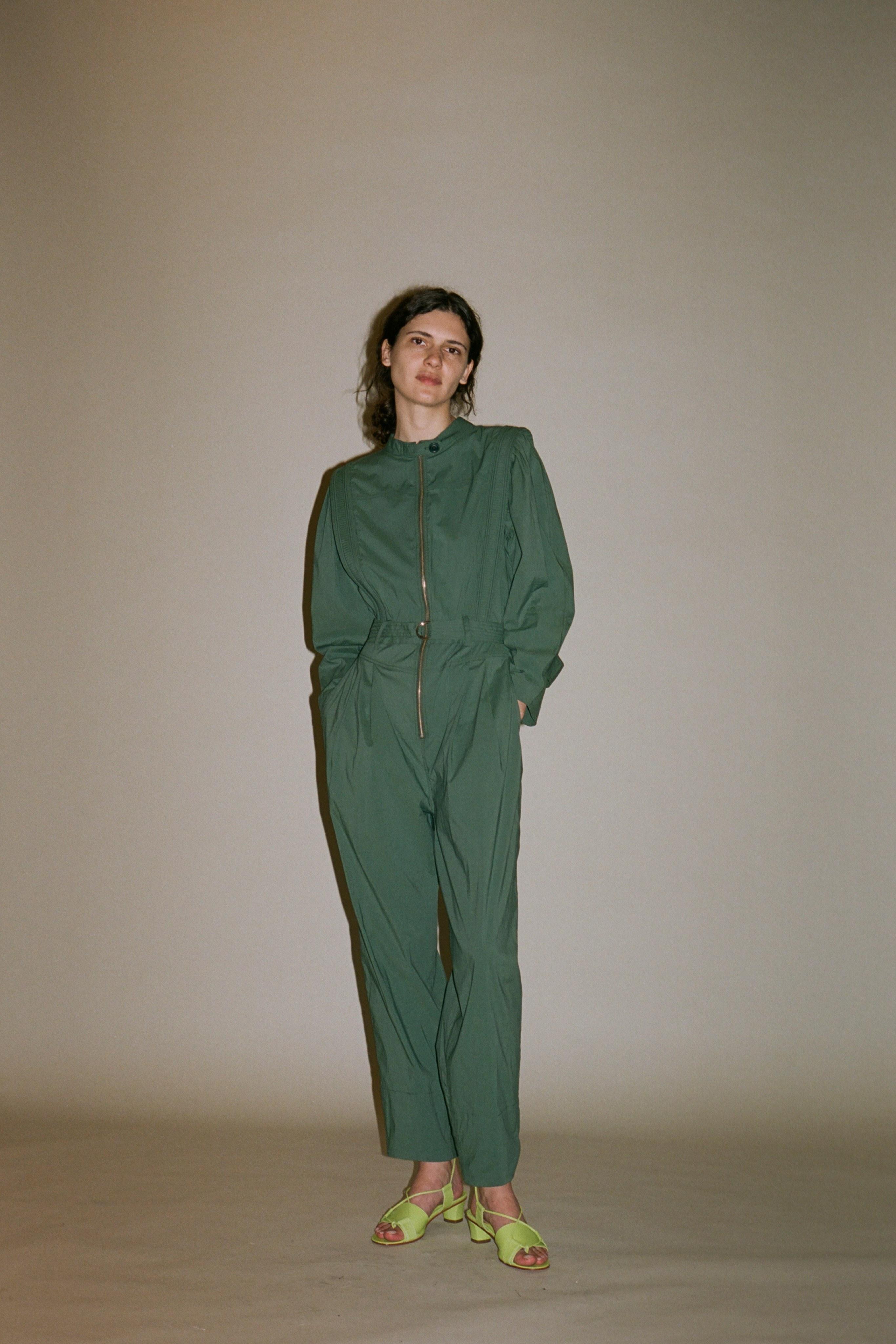 Clara cotton jumpsuit