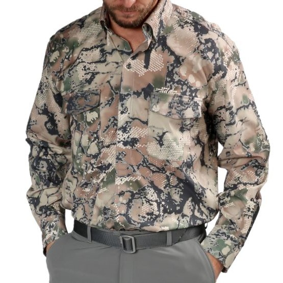 Performance Button Down, Camo