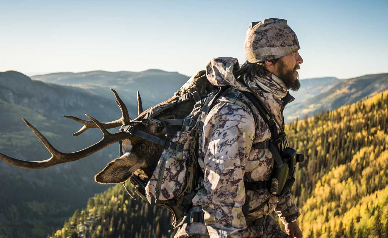 SIXSITE Pack is loaded with customizable features to personalize a pack system to fit a hunter's needs